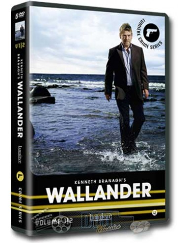 Wallander - Kenneth Branagh - Henning Mankell - DVD (2008)