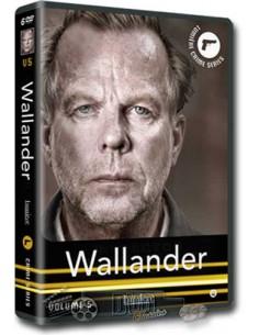 Wallander 5 - Henning Mankell - Kjell-Ake Andersson - DVD (2013)