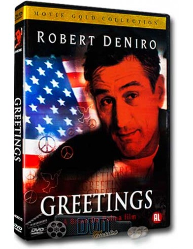 Greetings - Robert DeNiro - Brian de Palma - DVD (1968)