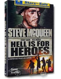 Hell is for Heroes - Steve McQueen, James Coburn - DVD (1962)