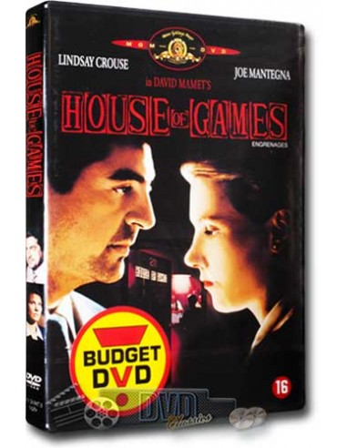 House of Games - Joe Mantegna - David Mamet - DVD (1987)