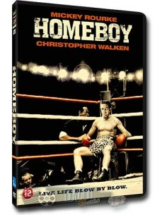 Homeboy - Christopher Walken, Mickey Rourke - DVD (1988)