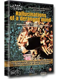 Hallucinations of a Deranged Mind - José Mojica Marins - DVD (1978)