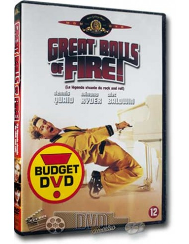 Great Balls of Fire - Dennis Quaid, Winona Ryder - DVD (1989)