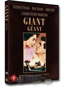 Giant - Rock Hudson, Elizabeth Taylor - George Stevens - DVD (1956)