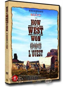 How The West Was Won - Gregory Peck, Henry Fonda - DVD (1962)