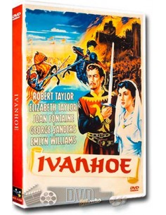 Ivanhoe - Robert Taylor, Elizabeth Taylor - DVD (1952)