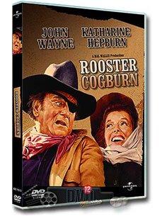 John Wayne in Rooster Cogburn - Katharine Hepburn - DVD (1975)