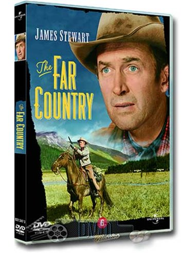 James Stewart in The Far Country - Walter Brennan - DVD (1954)