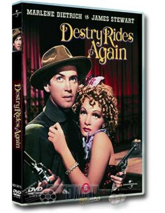 James Stewart in Destry Rides Again - Marlene Dietrich - DVD (1939)