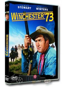 James Stewart in Winchester '73 - Shelley Winters - DVD (1950)