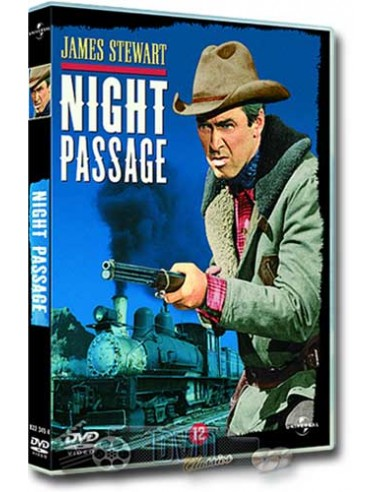 James Stewart in Night Passage - Audie Murphy - DVD (1957)