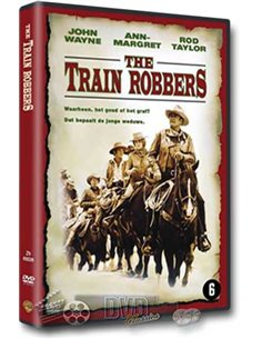 John Wayne in The Train Robbers - DVD (1973)