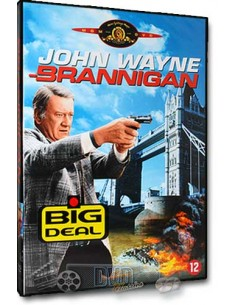 John Wayne in Brannigan - Richard Attenborough - DVD (1975)