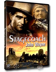 John Wayne in Stagecoach - John Ford - DVD (1939)