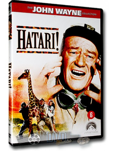 John Wayne in Hatari! - Red Buttons, Hardy Krüger - DVD (1962)