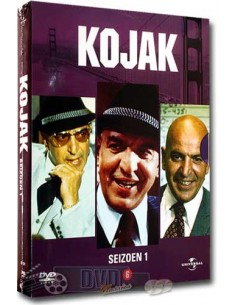 Kojak - Seizoen 1 - Telly Savalas - Abby Mann [6DVD] - DVD (1973)