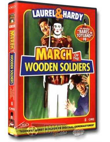 Laurel & Hardy - March of the Wooden Soldiers - DVD (1934)