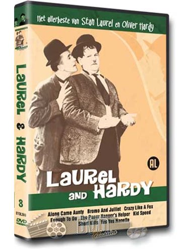 Laurel & Hardy - het allerbeste van 3 - DVD (1924-1926)