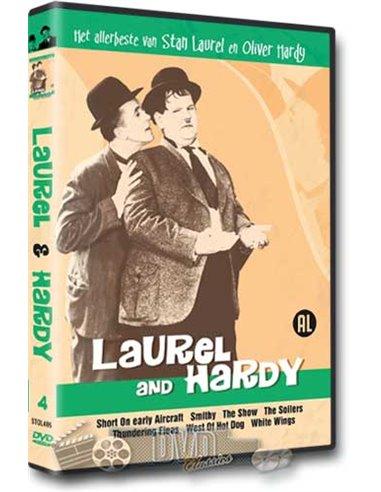 Laurel & Hardy - het allerbeste van 4 - DVD (1922-1924)