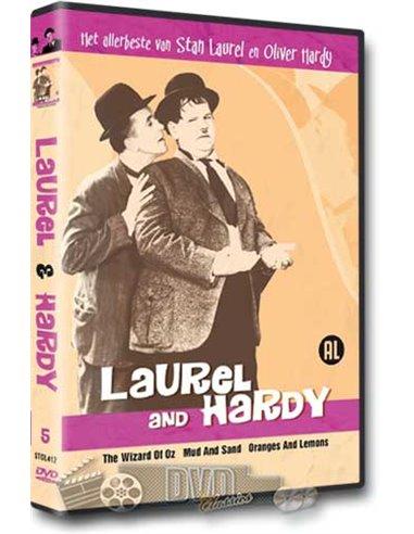 Laurel & Hardy - het allerbeste van 5 - DVD (1922-1925)