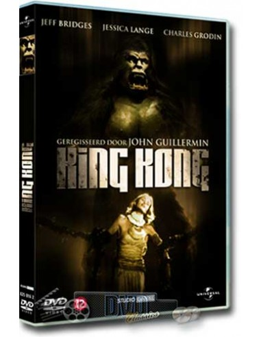 King Kong - Jeff Bridges, Jessica Lange - DVD (1976)