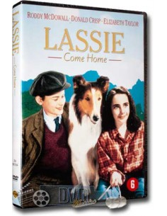 Lassie Come Home - Elizabeth Taylor, Roddy Mcdowall - DVD (1943)