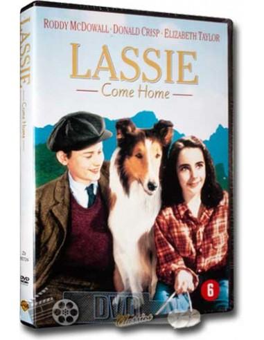 Lassie Come Home - Elizabeth Taylor, Roddy Mcdowall - DVD (1943)