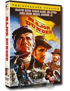 Major Dundee - Charlton Heston, James Coburn - DVD (1965)