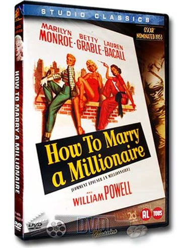 Marilyn Monroe - How to Marry a Millionaire - DVD (1953)