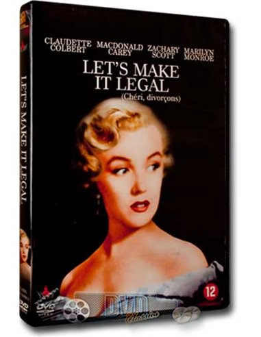 Marilyn Monroe - Let's Make it Legal - DVD (1951)