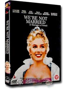 Marilyn Monroe - We're Not Married - DVD (1952)