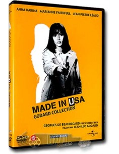 Made in U.S.A. van Jean-Luc Godard - DVD (1966)