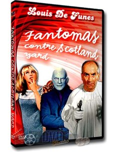 Louis de Funes - Fantomas contre Schotland Yard - DVD (1967)