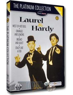 Laurel & Hardy - The Platinum Collection Deel 1 - DVD