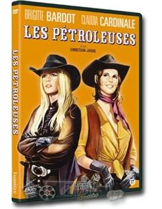 Les Pétroleuses - Brigit Bardot, Claudia Cardinale - DVD (1971)