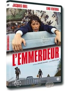 L'emmerdeur - Jacques Brel, Lino Ventura - DVD (1973)