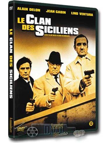 Le Clan des Siciliens - Alain Delon, Lino Ventura - DVD (1969)