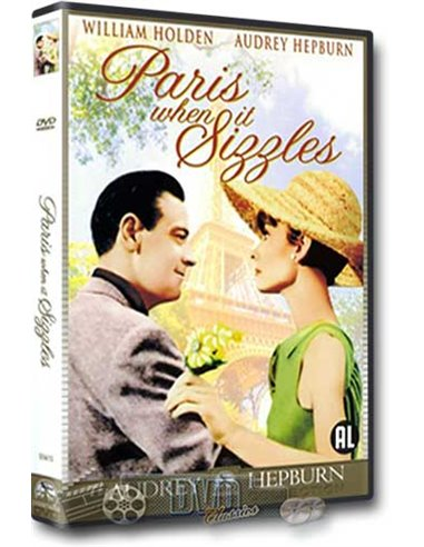Paris When it Sizzles - Audrey Hepburn - DVD (1964)
