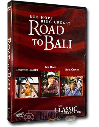 Road to Bali - Bob Hope, Bing Crosby, Dorothy Lamour - DVD (1952)