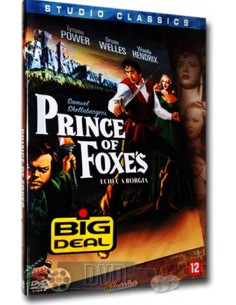 Prince of Foxes - Orson Welles, Tyrone Power - DVD (1949)