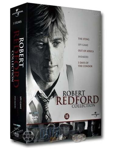 Robert Redford Collection - Paul Newman, Robert Shaw, Brad Pitt [5DVD]