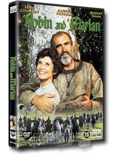 Robin and Marian - Sean Connery, Audrey Hepburn - DVD (1976)