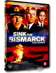 Sink the Bismarck - Kenneth More, Dane Wynter - DVD (1960)