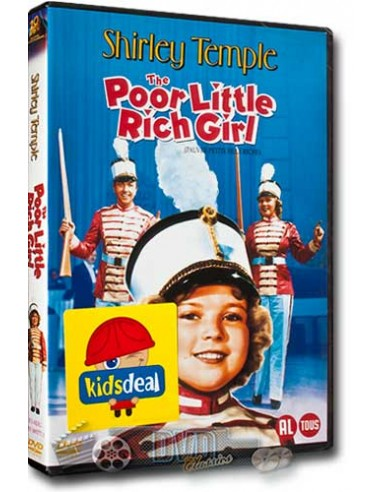 Shirley Temple - The Poor Little Rich Girl - DVD (1936)