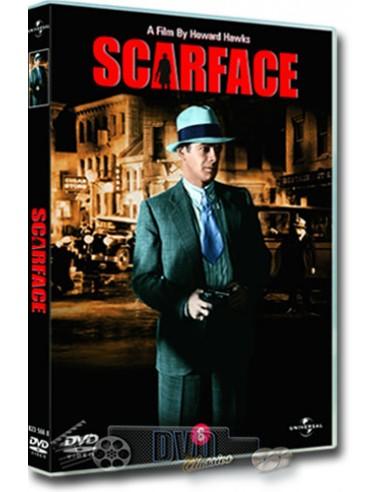 Scarface van Howard Hawks - Paul Muni, Ann Dvorak - DVD (1932)