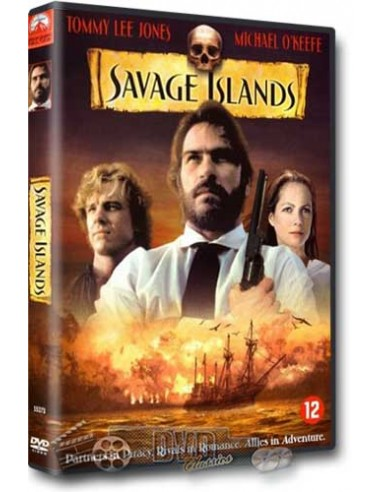Savage Islands - Tommy Lee Jones, Michael O'Keefe - DVD (1983)