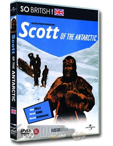 Scott of the Antartic - John Mills, Derek Bond - DVD ( 1948)