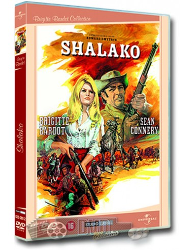 Shalako - Sean Connery, Brigitte Bardot - DVD (1968)