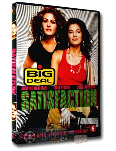 Satisfaction - Julia Roberts, Liam Neeson - DVD (1988)